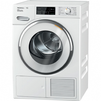 MIELE TWJ680 WP Eco & Steam WiFi & XL T1 heat pump dryer with SteamFinish 9KG and WiFiConn@ct